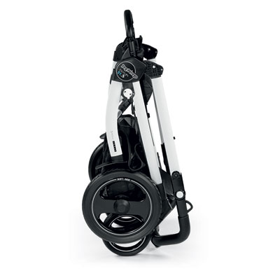 Pack poussette trio book 51 s black/white pop up sportivo bloom scuba Peg perego