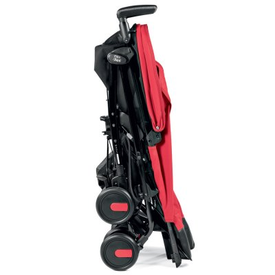 Poussette canne pliko mini geo red Peg perego