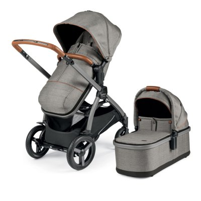 Pack poussette duo ypsi combo polo Peg perego