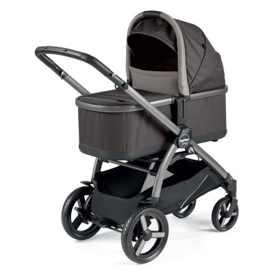 Pack poussette duo ypsi combo class grey Peg perego