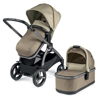 Pack poussette duo ypsi combo class beige Peg perego