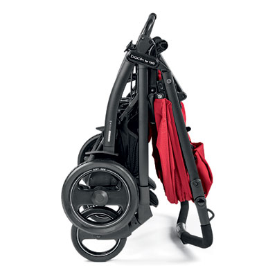 Poussette double book for two mod red Peg perego