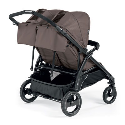 Poussette double book for two mod beige Peg perego