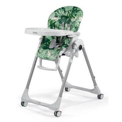 Chaise haute bébé follow me prima pappa foliage Peg perego