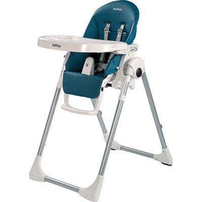 Chaise haute bébé prima pappa zero-3 petrolio Peg perego