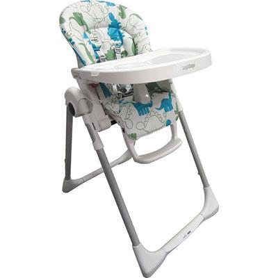Chaise haute bébé prima pappa zero-3 dino park bianco Peg perego
