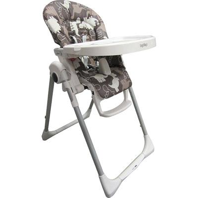Chaise haute bébé prima pappa zero-3 dino park marrone Peg perego