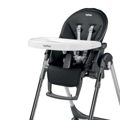 Chaise haute bébé follow me prima pappa hi-tech licorice Peg perego