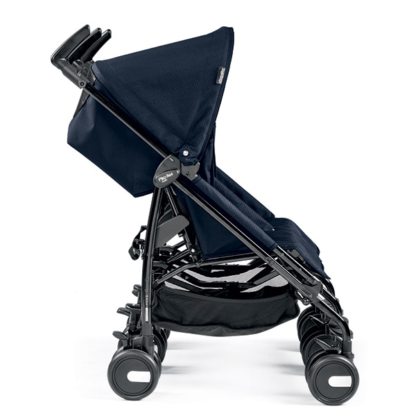 Poussette double pliko mini twin mod navy Peg perego