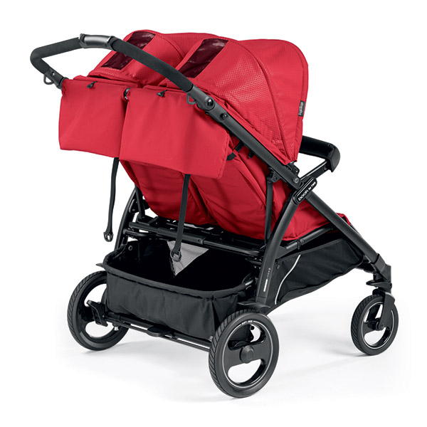 Poussette jumeaux book for two mod red Peg perego