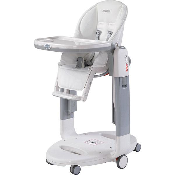 Chaise haute bébé tatamia latte Peg perego