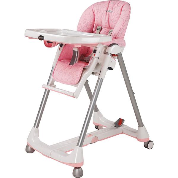 Chaise haute bébé prima pappa diner savana rosa Peg perego