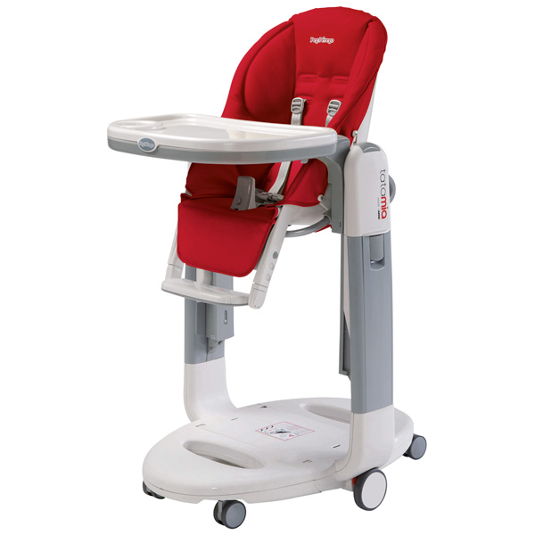 Chaise haute bébé tatamia fragola Peg perego