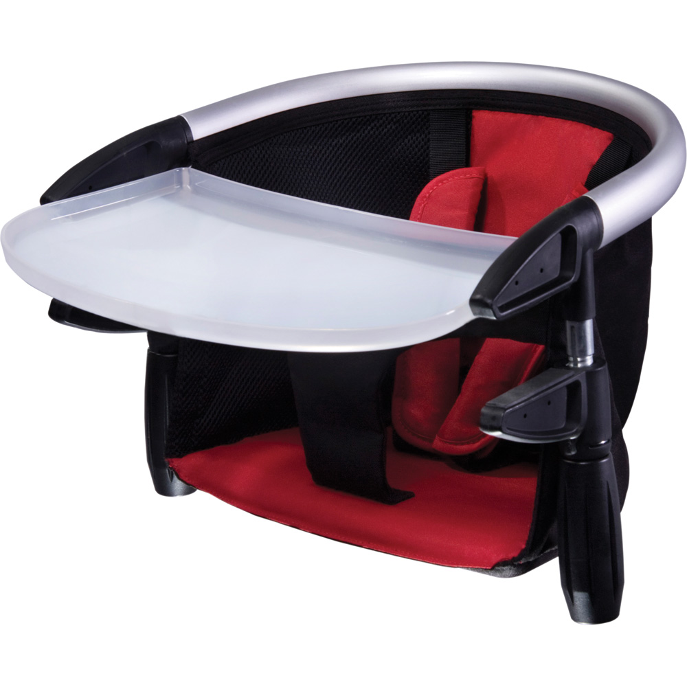Si ge de table b b lobster noir rouge de phil and teds - Table eveil bebe avec siege ...