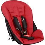 Second siège pour poussette dot noir/rouge - version 2 pas cher