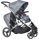 Poussette multiple voyager grey marl