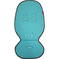 Coussin assise principale cushy ride turquoise ou verve