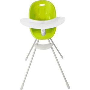 Chaise haute bébé poppy vert lime