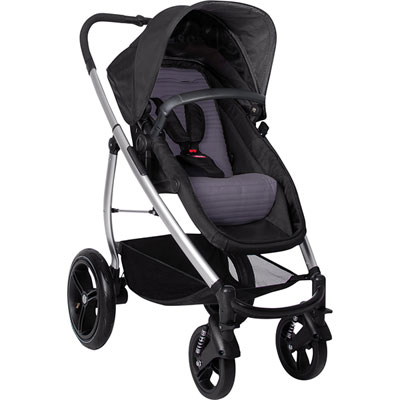 Poussette 4 roues smart lux taupe Phil and teds