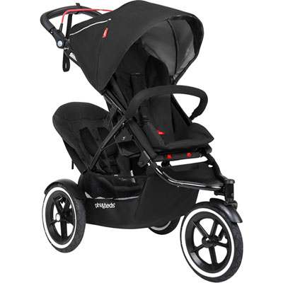 Second siège pour poussette sport black Phil and teds