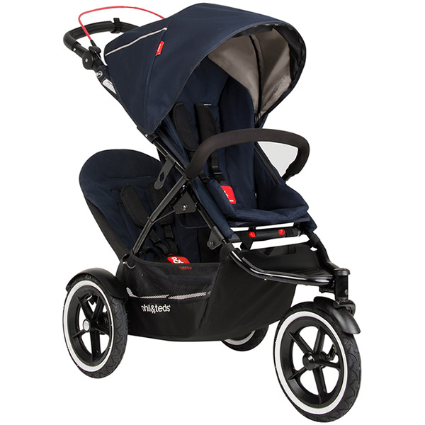 Second siège pour poussette sport midnight blue Phil and teds
