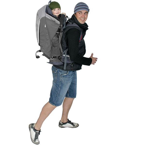 Porte bébé escape gris Phil and teds
