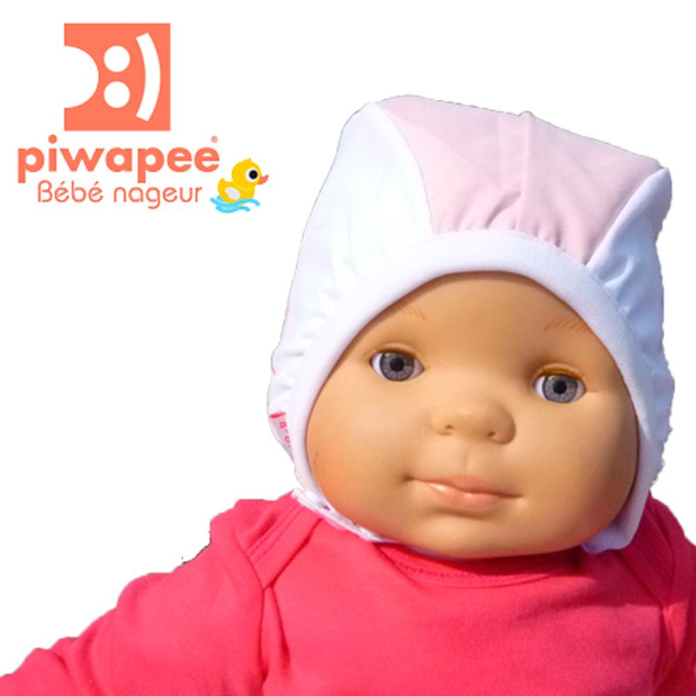 Bonnet de bain b b vahin 6 12 mois de piwapee sur allob b for Piscine bebe 6 mois