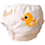 Maillot de bain couche canard 4-8 kg pas cher