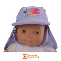 Casquette bébé anti-uv papillon 24-36 mois