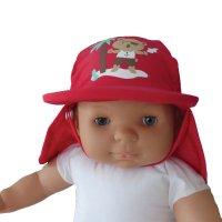 Casquette bébé anti-uv ourson 6-12 mois