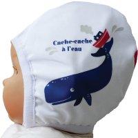 Bonnet de bain cachalot 3-6 mois