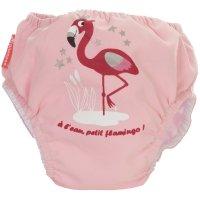 Maillot de bain bébé couche flamingo 4-8 kg