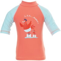 Tee-shirt anti-uv cocotte 3-6 mois