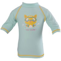 Tee-shirt anti-uv chaton 3-6 mois