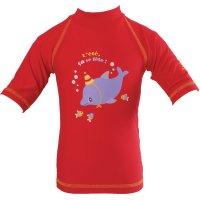 Tee-shirt de bain anti-uv dauphin 6-12 mois