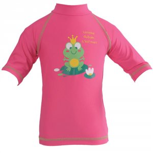 Tee-shirt bébé anti-uv rainette 6-12 mois