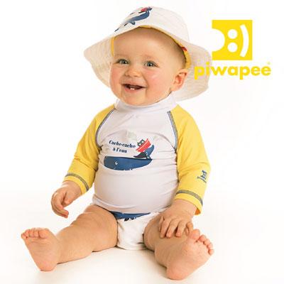 Chapeau cachalot 6-12 mois Piwapee