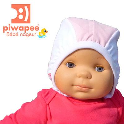 Bonnet de bain bébé vahiné 6-12 mois Piwapee