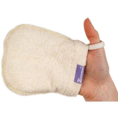 5 gants lingettes en coton bio Piwapee