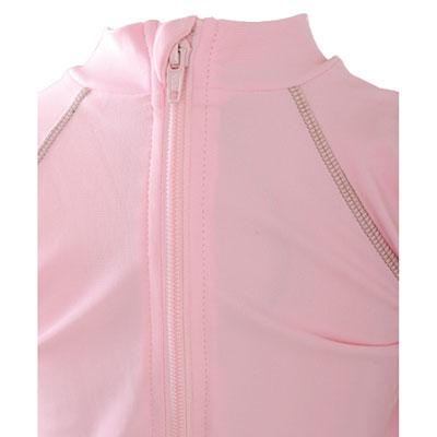 Tee-shirt anti-uv la petite vahinee rose 24-36mois Piwapee