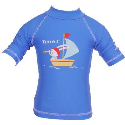 Tee-shirt anti-uv lapin moussaillon 24-36 mois Piwapee