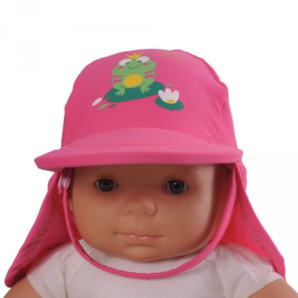 Casquette bébé anti-uv rainette 6-12 mois Piwapee