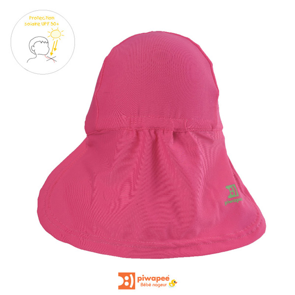 Casquette bébé anti-uv rainette 24-36 mois Piwapee