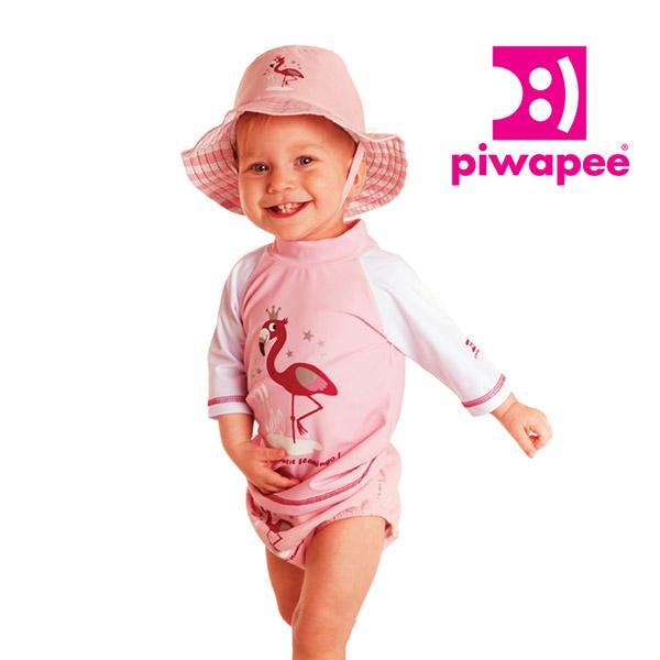 Chapeau bébé flamingo 6-12 mois Piwapee