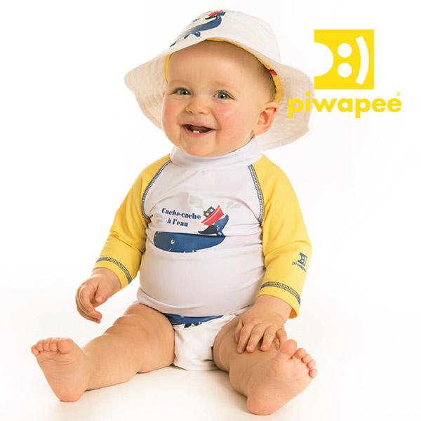 Chapeau bébé cachalot 3-6 mois Piwapee