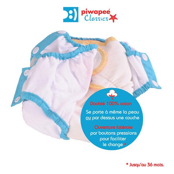 Maillot de bain bebe slip stars 24-36 mois Piwapee