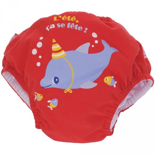 Maillot de bain bébé couche dauphin 4-8 kg Piwapee