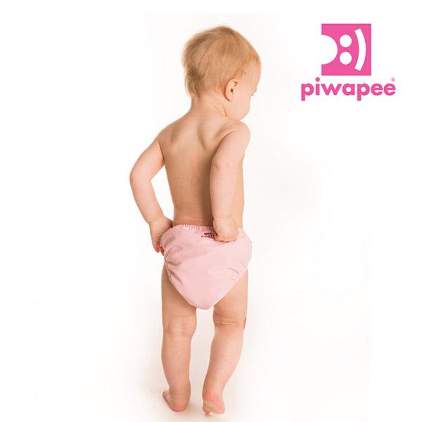 Maillot de bain bébé couche flamingo 4-8 kg Piwapee