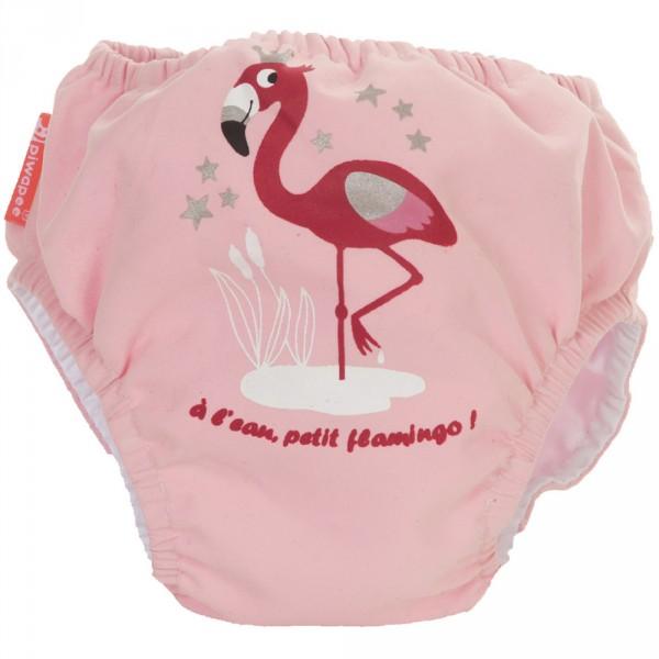 Maillot de bain bébé couche flamingo 8-11 kg Piwapee