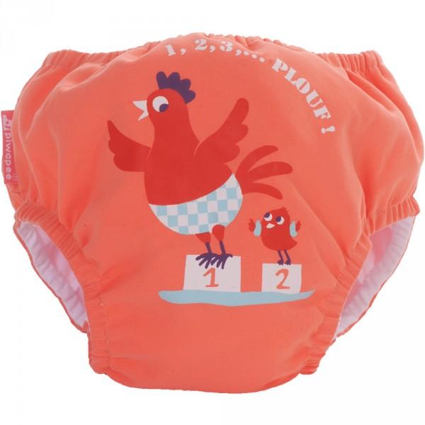 Maillot de bain bébé couche cocotte 4-8 kg Piwapee